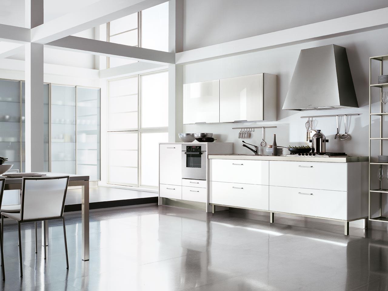 Moderne : Cucine Lube Mod. Gaia